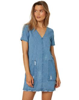 INDIGO WOMENS CLOTHING ELEMENT DRESSES - 286869IND