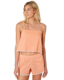 TANGERINE WOMENS CLOTHING NUDE LUCY FASHION TOPS - NU23470TAN