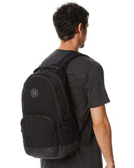 BLACK BLACK MENS ACCESSORIES HURLEY BAGS + BACKPACKS - ZQ027020