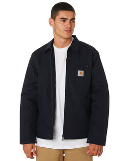 DARK NAVY MENS CLOTHING CARHARTT JACKETS - I015264DNVY