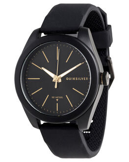 BLACK/GOLD MENS ACCESSORIES QUIKSILVER WATCHES - EQYWA03022-XKKY