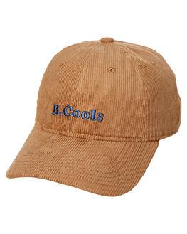 CAMEL CORDUROY MENS ACCESSORIES BARNEY COOLS HEADWEAR - 950-CR2ICMLC