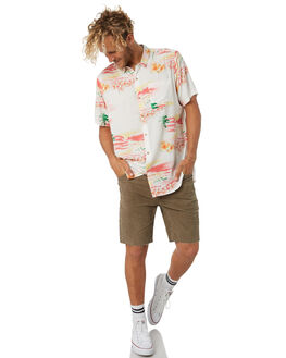 WHITE MENS CLOTHING ROLLAS SHIRTS - 154731