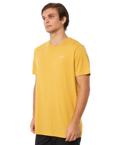 YELLOW MENS CLOTHING ELEMENT TEES - 174031YLW
