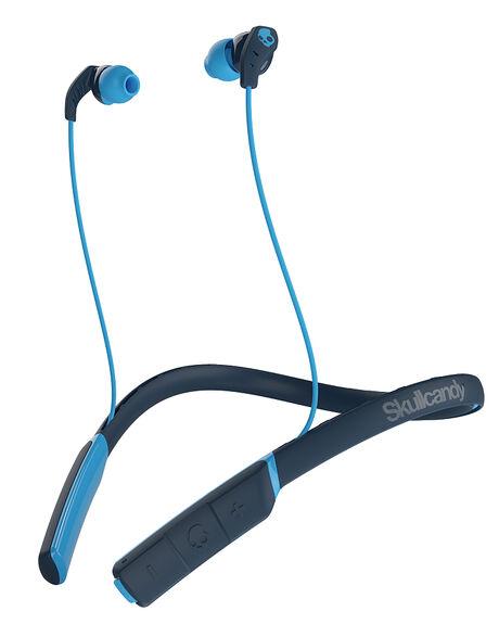 NAVY BLUE BLUE MENS ACCESSORIES SKULLCANDY AUDIO + CAMERAS - S2CDW-J477NVY