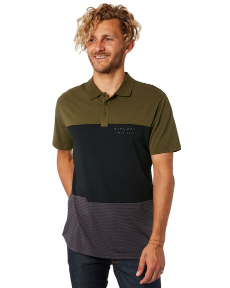BLACK MENS CLOTHING RIP CURL SHIRTS - CPLCP10090