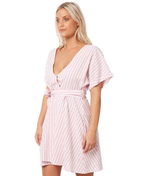 BLOSSOM WOMENS CLOTHING RUSTY DRESSES - DRL0916BLO