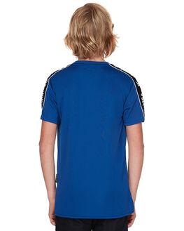 SODALITE BLUE KIDS BOYS DC SHOES TEES - EDBKT03100BYB0
