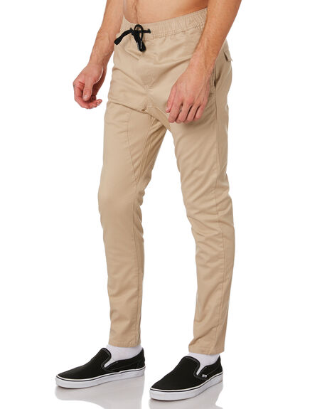 TAN MENS CLOTHING ZANEROBE PANTS - 735-MTGTAN
