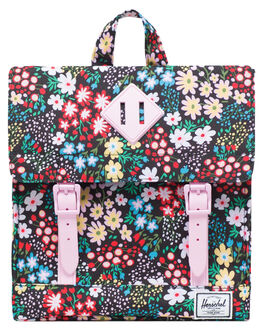 MULTI FLORAL KIDS GIRLS HERSCHEL SUPPLY CO BAGS + BACKPACKS - 10142-02563-OSMLTFL