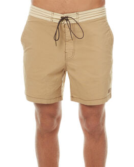COFFEE MENS CLOTHING DEUS EX MACHINA BOARDSHORTS - BDMP72623COF