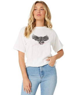 VINTAGE WHITE WOMENS CLOTHING SILENT THEORY TEES - 6054000VWHT