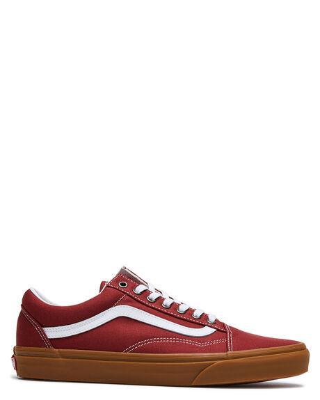 RED MENS FOOTWEAR VANS SNEAKERS - VN0A4U3BWZ0RED