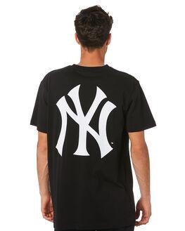 YANKEES BLACK MENS CLOTHING MAJESTIC TEES - MNY7020DBBLK