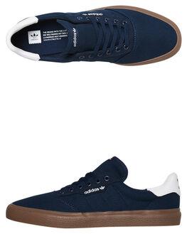 COLLEGIATE NAVY MENS FOOTWEAR ADIDAS SKATE SHOES - G54654CNVY