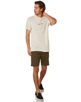 DIRTY WHITE MENS CLOTHING THE CRITICAL SLIDE SOCIETY TEES - TE1872DWHT