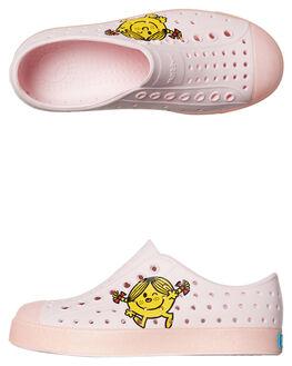 MILK PINK KIDS TODDLER GIRLS NATIVE FOOTWEAR - 13100101-8563