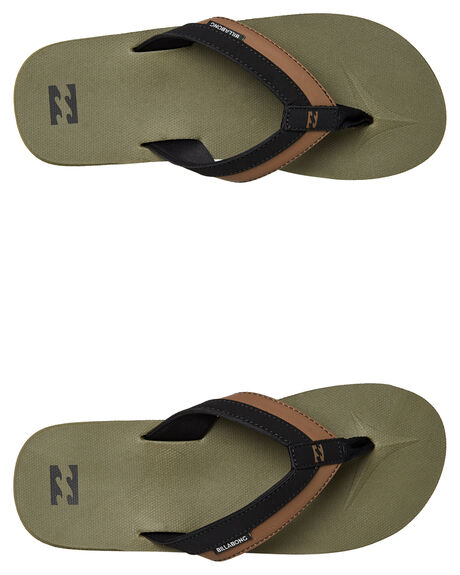 MILITARY MENS FOOTWEAR BILLABONG THONGS - 9661941MIL