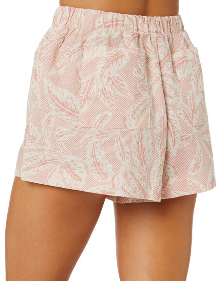 PRINT OUTLET WOMENS NUDE LUCY SHORTS - NU24113PRNT