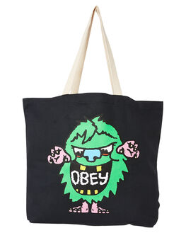 BLACK MENS ACCESSORIES OBEY BAGS + BACKPACKS - 100552087BLK