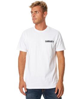 WHITE MENS CLOTHING CARHARTT TEES - I015729WHT