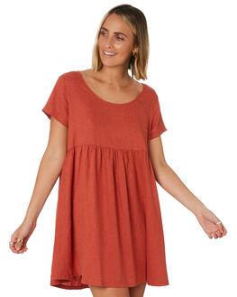 ROCKER RED WOMENS CLOTHING THRILLS DRESSES - WTR9-903HRRRED