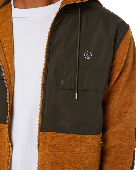 GOLDEN BROWN MENS CLOTHING VOLCOM JUMPERS - A5832000GBN
