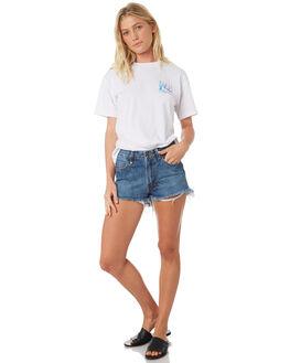 WHITE WOMENS CLOTHING RUSTY TEES - TTL1007WHT