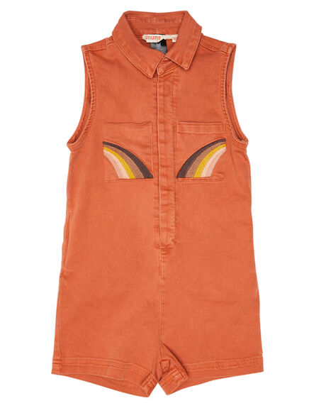RUST KIDS GIRLS MUNSTER KIDS DRESSES + PLAYSUITS - MM201JS09KRUST