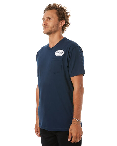 NAVY MENS CLOTHING VOLCOM TEES - A35417D0NVY