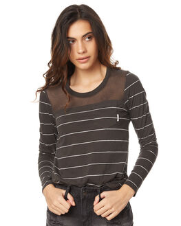 OFF BLACK WOMENS CLOTHING ELEMENT TEES - 273052OFFBK