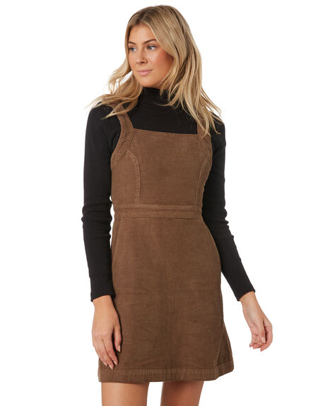 FOREST WOMENS CLOTHING THRILLS DRESSES - WTW9-905FFOR