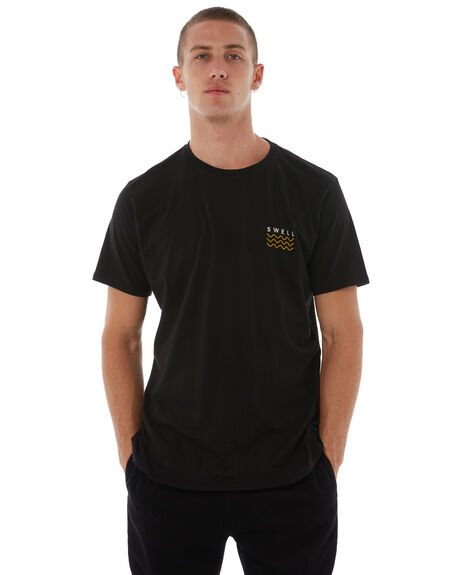 BLACK PINK MENS CLOTHING SWELL TEES - S5164013BLKPK