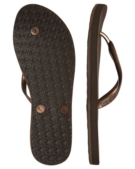 BRONZE OUTLET WOMENS REEF THONGS - 1949BRZ