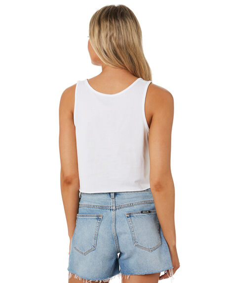 WHITE WOMENS CLOTHING LEVI'S SINGLETS - 69972-00050005