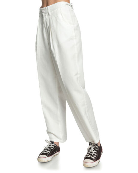 SNOW WHITE WOMENS CLOTHING QUIKSILVER PANTS - EQWNP03013-WBK0