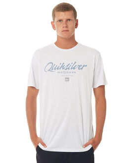 WHITE MENS CLOTHING QUIKSILVER TEES - EQMZT03063WBB0