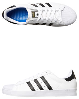 WHITE BLACK WOMENS FOOTWEAR ADIDAS ORIGINALS SNEAKERS - SSD68718WHIW
