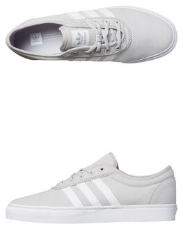 LGH SOLID WHITE WOMENS FOOTWEAR ADIDAS ORIGINALS SKATE SHOES - SSBY4032LGHW