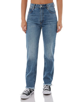 EVERWORN BLUE WOMENS CLOTHING ROLLAS JEANS - 125733553