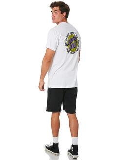 WHITE MENS CLOTHING SANTA CRUZ TEES - SC-MTC9340WHT