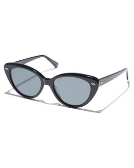BLACK WOMENS ACCESSORIES EPOKHE SUNGLASSES - 0802-BLKPOBLKPLBLK