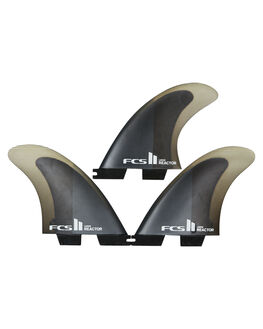 CHARCOAL BLACK BOARDSPORTS SURF FCS FINS - FREA-PC04-TS-RCHBLK