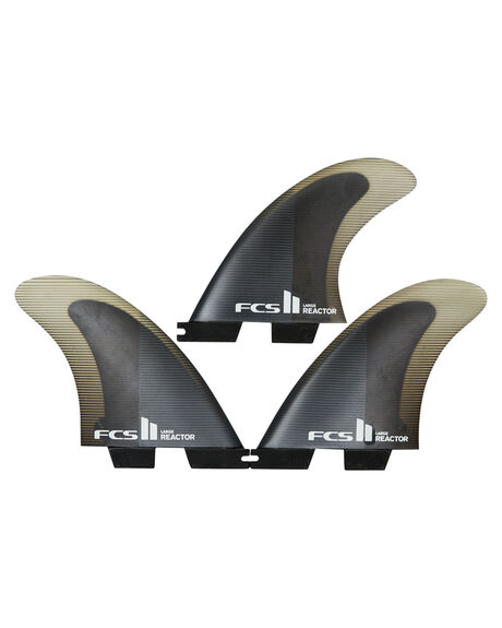 CHARCOAL BLACK BOARDSPORTS SURF FCS FINS - FREA-PC04-TS-RCHBLK