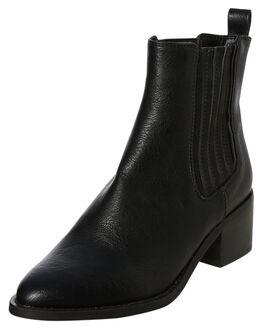 BLACK BURNISHED WOMENS FOOTWEAR BILLINI BOOTS - B925BLK