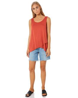 SUNSET WOMENS CLOTHING BETTY BASICS SINGLETS - BB526T20SUNS