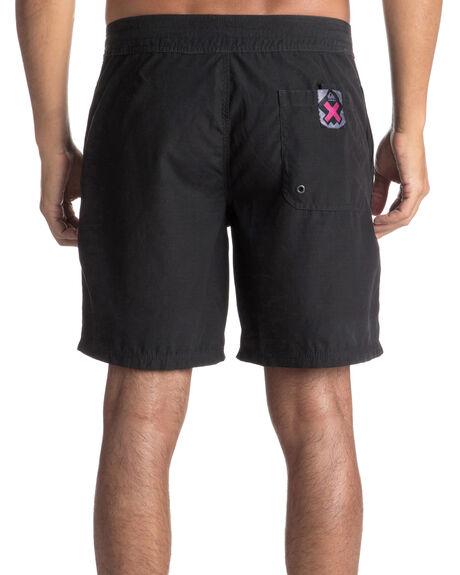 BLACK MENS CLOTHING QUIKSILVER BOARDSHORTS - EQYBS03914KVJ6