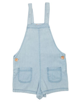 LIGHT BLUE KIDS TODDLER GIRLS ROXY PLAYSUITS + OVERALLS - ERLDS03026BFG0
