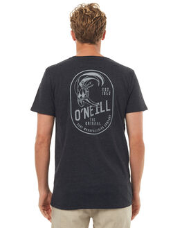 CHARCOAL MARLE MENS CLOTHING O'NEILL TEES - 4411106CMRL