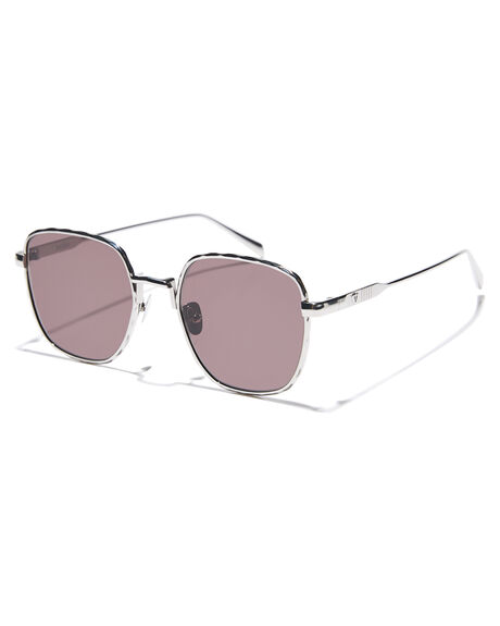 GLOSS SILVER MENS ACCESSORIES VALLEY SUNGLASSES - S0466GSIL